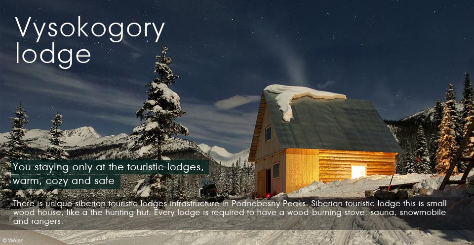 Siberian taiga, Vysokogorny lodge