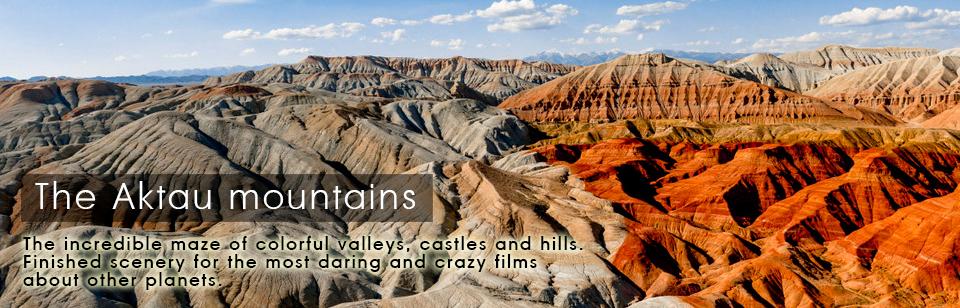 Actau Mountains, South Kazakhstan Expeditions