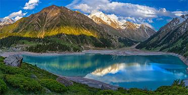 Greate Almaty lake, South Kazakhstan Expedition