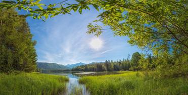Into the wild North of Baikal Lake, Frolikha lake