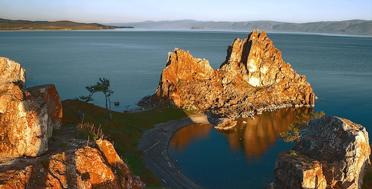 Into the wild North of Baikal Lake, shamanka rock, Cape Burkhan