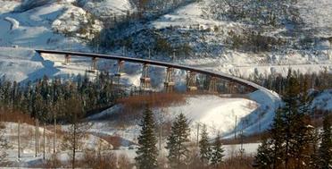 Devil's Bridge. The expedition along BAM.