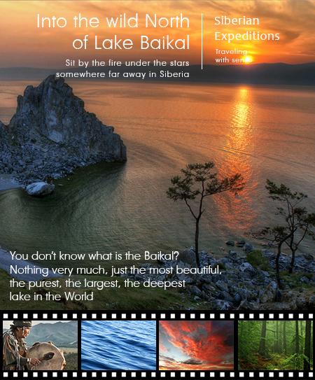 Into the wild North Lake Baikal