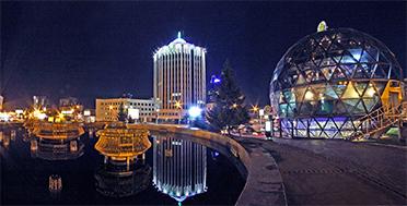 Altai bike tour expedition, Novosibirsk