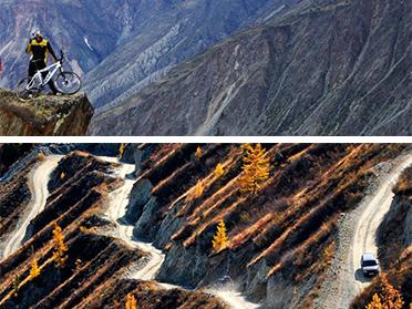 Altai Bike Tour Expedition, Katu-Yaryk mountain pass