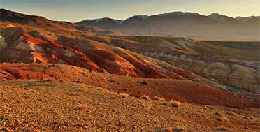 Altai Bike Tour Expedition, Kyzyl-Chin landscape