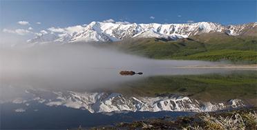 Altai Bike Tour Expedition, Kurai steppe, Eshtykel plateu