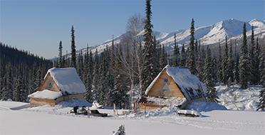 Siberian taiga, Shoria mountains, Russia