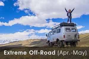 Russia offroad Altai tour