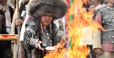 Sayan Ring, Khakassia. Russia, Siberia