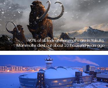 Якутия, мамонты, Якутск. Оймякон, Полюс Холода
