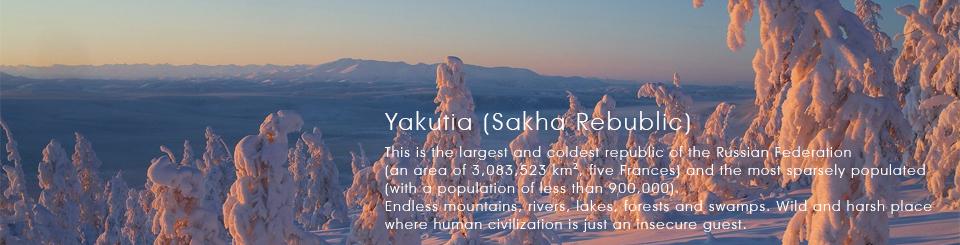Yakutia, Russia, Pole of Cold. Tour in Oymyakon